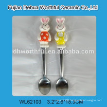 spoon with ceramic handle