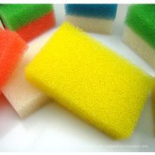 Espuma de esponja de limpieza para platos