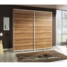 Porta de madeira deslizante do projeto de madeira de Rusitc Solide para o vestuário e o armário