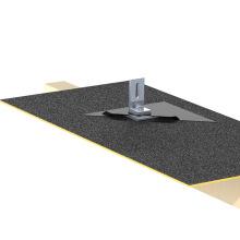 Support solaire de panneau pour le kit solaire de toit de bardeaux de toit de ciment de fibre