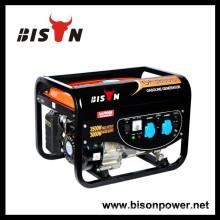 BISON (CHINA) GX390 Motor Alternador de cobre Honda 4kw Generator