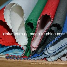 Tissu sous doublure en polyester de haute qualité pour ameublement