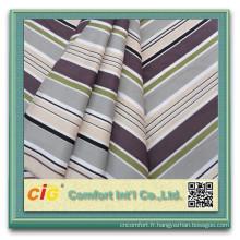 Coloré tissé imprimé drap de lit tissu