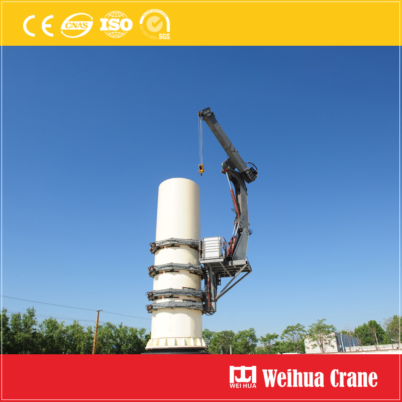 Self Climb Crane