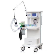 Máquina de anestesia general de anestesia de gas médica móvil vaporizador