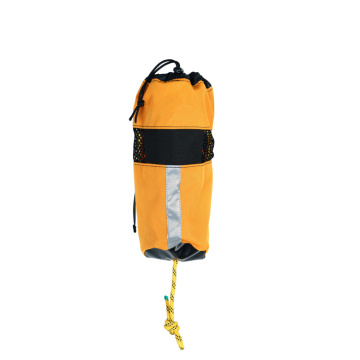 High strength marine safety PP material rescue rope throw bag with 20M