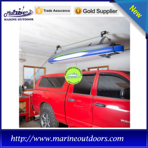Hand chain home storage ceiling kayak hoist
