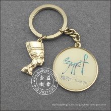 Египетские изображения Брелок, изготовленный на заказ металла ключевое кольцо (GZHY-КС-021)