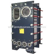 Semi-welded heat exchanger
