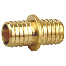 Латунный соединительный штуцер для поршневого шланга из латуни (a. 0418)