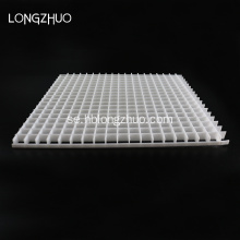 Ljust tak ABS Eggcrate Plastic Grille Sheet