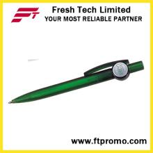 Китайская дешевая ручка с логотипом