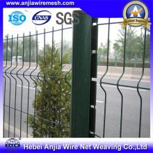 CE PVC Revêtu de métal Quick Post Garden Fence