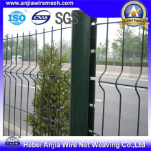 PVC Coated Metal Quick Post Garden Fence