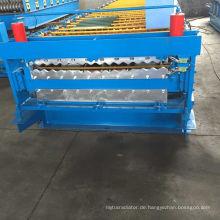 Aluminium-Metalldach-Roofing Wall Panel-Maschine