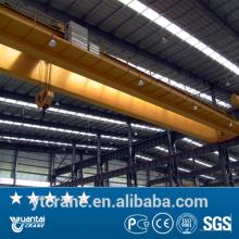 Largement utilisé en acier grue avec faible prix usine, les ponts roulants bipoutre