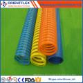 Manguera flexible de succión de PVC de colores