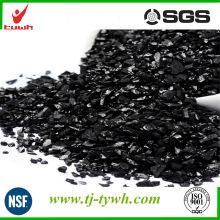 Carbón activado con albaricoque