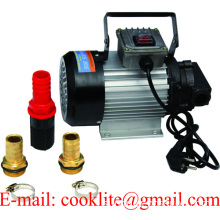 220V AC portable electric diesel oil engine transfer extractor fuel pump motor self priming 550W