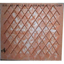 Glasmosaikformen aus Faserharz