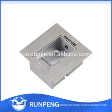 Cerradura de huella digital de estampación de aluminio de alta precisión