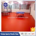 4.5mm vermelho lichia grão pvc antiderrapante interior tênis de mesa tapete de revestimento