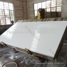 KKR pearl white quartz slab/white quartzite slabs