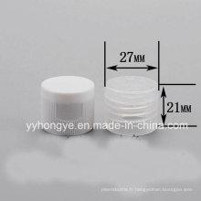 Hot Sales Plastic Flip Top Caps pour bouteille24 / 410 Flip Cap