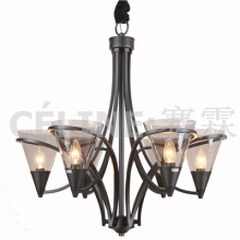 CE Approved Glass Chandelier for Promotion (SL2248-6)