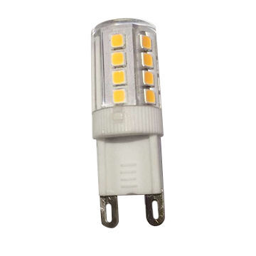 G9 2W 160lm 360deg Ceramic + PC Body, EMC and LVD Approved LED Bulb
