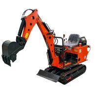 Mini escavadeira 800kg com motor diesel para venda