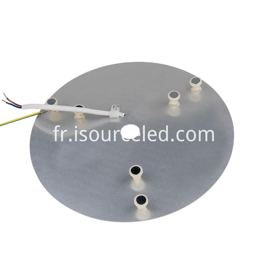 Ac linear round Dimming 24W Aluminum Base PCB bottom picture