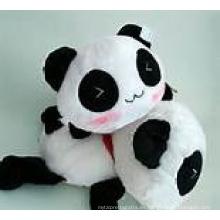 ICTI Audited Fábrica linda peluche panda de juguete de peluche