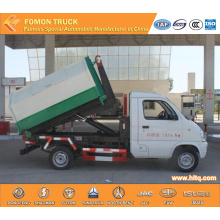 FAW light hook lift refuse truck 2-3m3