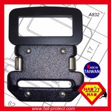 Für Harness Quick Side Release Aluminium und Stahl Sicherheit Gürtelschnalle