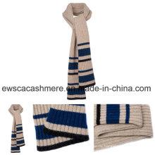 Streifen-Muster-Winter-langer Art gestrickter Schal