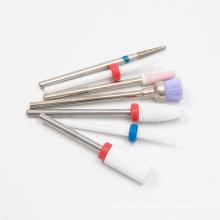 electric nail tools set ceramic bits nail for polish