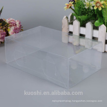 Custom clear PET PVC Packaging Box for cosmetic , electronic , gift