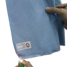 Nonwoven Fabric with Limited Flame Spread Treating