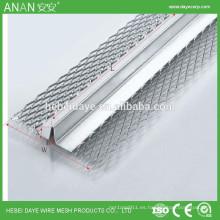 Proveedor de alibaba de China sistema de división de tabiques en forma de V galvanizado cordón de esquina soldada