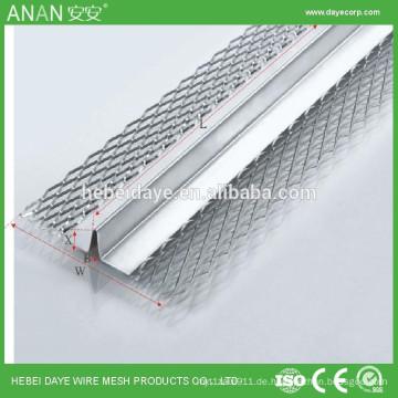 China alibaba Lieferant V-förmige Trockenbau-Trennwand galvanisierte geschweißte Eckperle