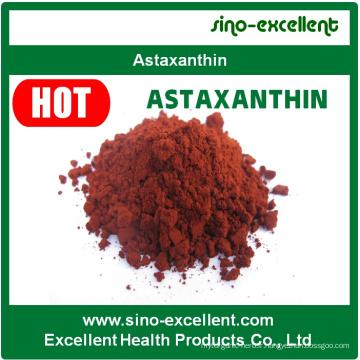 Poudre d'extrait naturel d'extrait d'astaxanthine de haute qualité