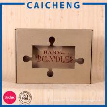 Custom rigid kraft paper packing box