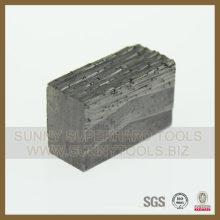 2500mm segmento de diamante de granito / segmento de diamante de mármol / herramientas de diamante hechas en China