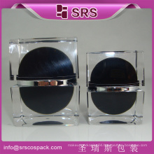New Style Luxury Square Shape Skincare Cream Jar And 30g 50g Gorgeous Fine Cosmetic Container