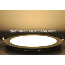 China Wholesale 12W AC90-265V SMD2835 luz do painel redondo