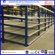 Q235 Entrepôt Stockage Carton Flow Racking pour Logistique / Système de Montage