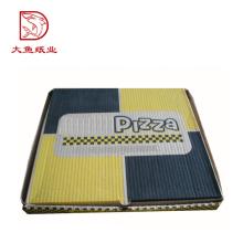 Cajas de pizza personalizadas de cartón de tamaño personalizado de buena calidad