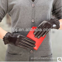 Fabricación profesional del guante de cuero hacen los guantes del invierno