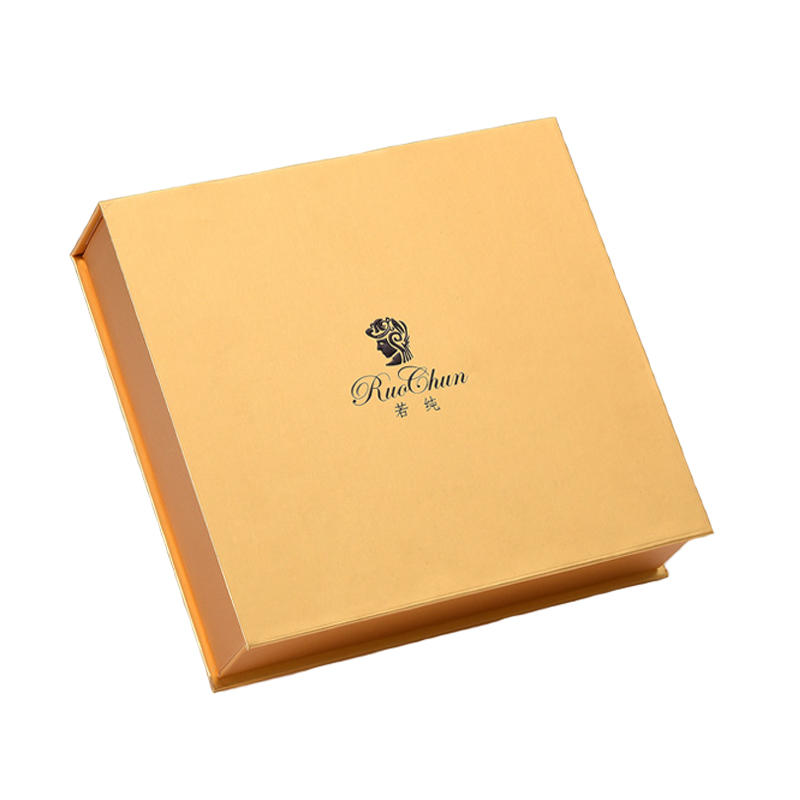 Gold Paper Rigid Box